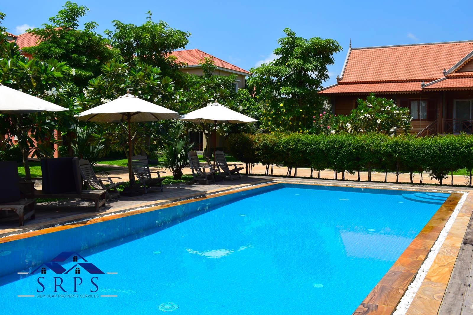 Beautiful 1 bedroom apartment with swimming pool-Svay Dangkum
