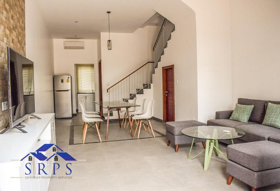 Modern 2 bedroom house for rent-Salakamreuk