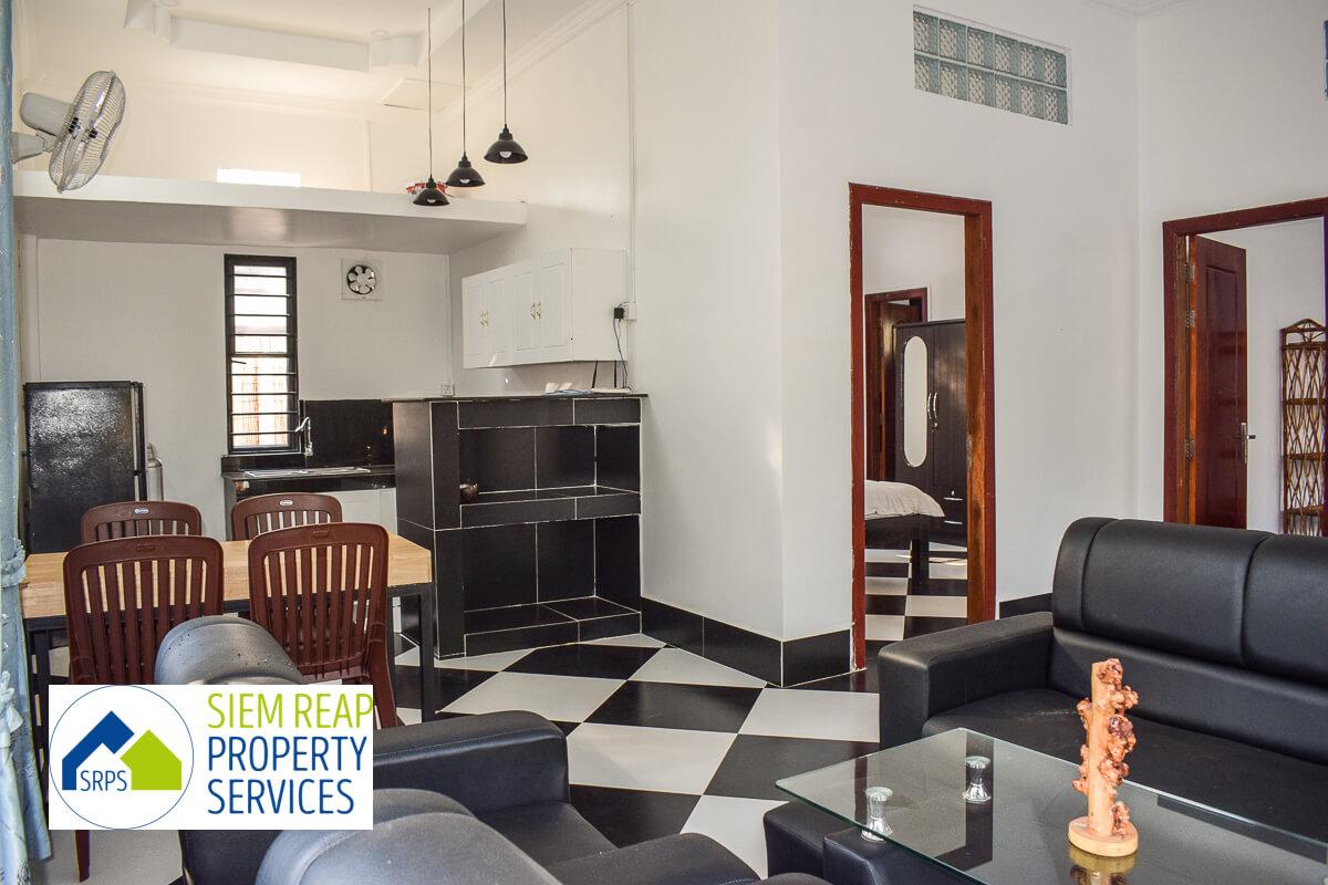 Brand-new 2 bedroom house for rent-Salakamreuk